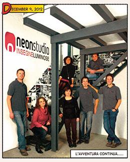 Neon studio presenta i quadrotti